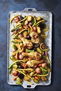 Rustic Smoky Glazed Chicken & Veggie Bake